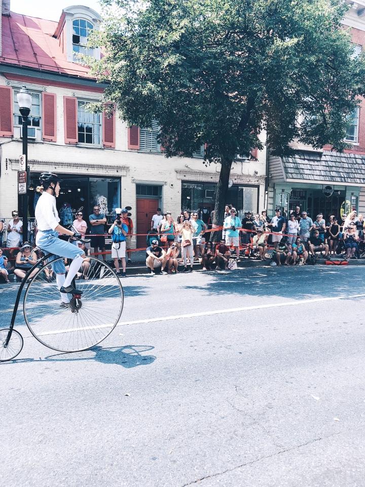 Clustered Spires High Wheel Race